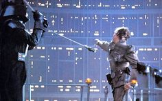 Star Wars: Episode V - The Empire Strikes Back publicity still of Mark Hamill & David Prowse