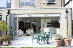 Kitchen extension flat roof