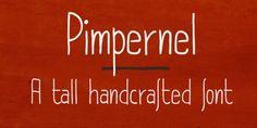 Pimpernel font download