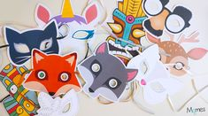 Des masques à imprimer, des masques à colorier et des modèles de masques en tout genre pour s'amuser à se déguiser en un clin d'œil ! Il ne vous reste plus qu'à choisir votre masque pour le carnaval parmi toutes nos créations : masques animaux, masques rigolos, masques traditionnels de tous les pays, loup de carnaval, etc. Et puis il n'y a pas que le carnaval pour se déguiser, anniversaire, soirée déguisée, spectacle de l'école ou juste pour rigoler le temps d'un après-midi, il y a toujours une