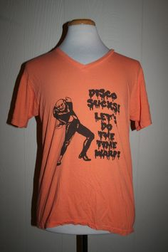 vintage unisex 1980's ROCKY HORROR picture show t shirt riff raff time warp m