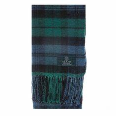 Clan Campbell Tartan | Clans of Scotland Campbell Ancient Tartan Scarf