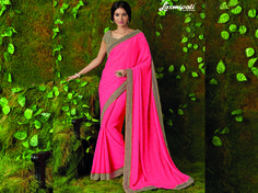 Explore this Amazing Pink Foil Work Saree with Beige Rawsilk Blouse along with Rawsilk Printed Lace Border from Laxmipati.com. #Catalogue #SURMAI Price - Rs. 1677.00  #Sarees #ReadyToWear #OccasionWear #Ethnicwear #FestivalSarees #Fashion #Fashionista #Couture #LaxmipatiSaree #Autumn #Winter #Women #Her #She #Mystery #Lingerie #Black #Lifestyle #Life #ColoursOfIndia #HappyBride #WhoYouAre #WomanPower #EpicLo