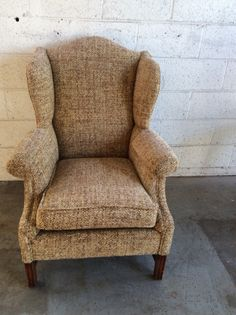 Tweed chair.  SOLD