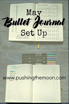 May Bullet Journal Set Up and April Review Bullet Journal Set Up, Bullet Journal Layout, Bullet Journal Inspiration, Writing Inspiration, Planner Board, Business Articles, Happy Mail, Uplifting Quotes, My Mood