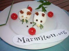 Les Oeufs souris - Recette de cuisine Marmiton : une recette