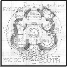 A 350 sq. ft. straw bale house plan