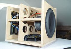 DIY Audio projects including speaker and subwoofer designs, to ...