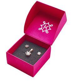 ANIA KRUK zestaw markowej biżuterii srebrnej kolczyki + zawieszka, 1 szt. + 1 szt.