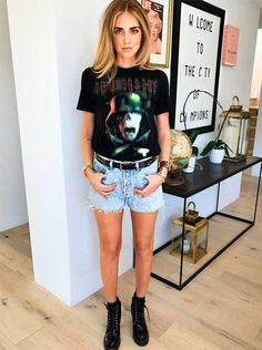 Como ser chic de short jeans » STEAL THE LOOK