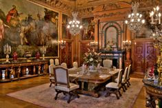 The Elms was the summer residence of Mr. Edward Julius Berwind of Philadelphia and New York. Berwind made his fortune in the Pennsylvania coal industry. In the Berwinds engaged Philadelphia architect Horace Trumbauer to design a house m