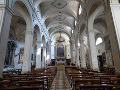 Interno del Duomo di Asolo.