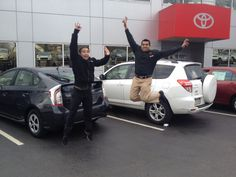 Congratulations to Ryan from Ardmore Toyota on your all new 2015 Toyota Prius. #ItsAHybrid! We hope you enjoy some great times in your #Prius and are jumping like this each time you get out of your car! Thank you from Q and everyone at Ardmore Toyota! #OhWhatAFeeling #JumpForJoy