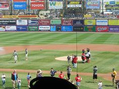 """Photos and videos from the Lehigh Valley Ironpigs minor league baseball team. The photos and videos were taken on the """"Take your dog to the park"""" game. The Ironpigs play at Coca Cola park in Allentown, PA"""