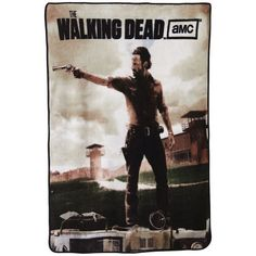 Walking Dead Throw Blankets Enchanting Walking Dead Daryl And Rick Fleece Throw Blanket  Niftywarehouse Decorating Design