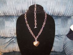 chain bracelet and necklace set