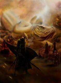 Nargothrond bridge by soys