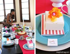baby shower brunch #favors via Delighted Magazine
