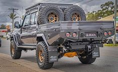Land Cruiser 70 Series, Offroad, Monster Trucks, Off Road