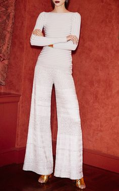 Great Textures! Pepa Pombo Look 11 on Moda Operandi