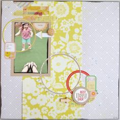 Paper and Pins. my handmade journey: New DT Projects with Basic Grey's Fact & Fiction - Pages 2 Scrap DT My Scrapbook, Scrapbook Layouts, Paper Glue, Basic Grey, Best Day Ever, Embellishments, Fiction, Journey, Facts