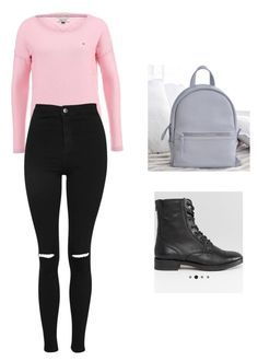 """Без названия #4"" by iswagperm on Polyvore featuring мода и Topshop"