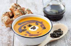 Výborná tekvicová polievka s praženými jadierkami