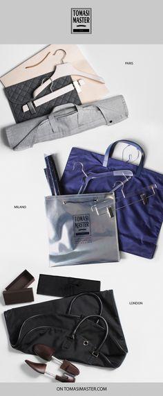 #Paris #Milano #London Smart Packaging, Fashion Packaging, Wooden Hangers, Gym Bag, London, Paris, Montmartre Paris, Duffle Bags, Paris France