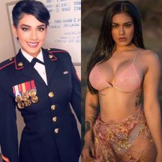 Sexy, fit women who look amazing in and out of uniform. Beautiful Badasses in (and out of) Uniform pics]. Sexy Women, Badass Women, Fit Women, Female Soldier, Military Women, Girls Uniforms, Professional Women, Looking For Women, Bikini Girls