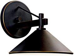 Kichler Ripley Outdoor Wall Lantern Olde Bronze 49059OZ