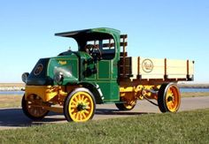 Early Mack Truck models | CAPTION : The first Mack AC truck ever built (shown here) will be on ...
