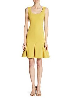 Akris punto - Pleated Flounce Dress