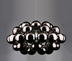 Beads Octo Gunmetal Pendant by Innermost | General lighting