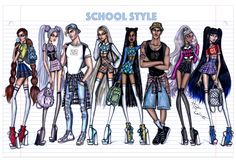 'School Style' collection by Hayden Williams