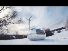 Ecocapsule - independent off-grid micro-living