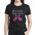 50TH ROCK STAR Women's Dark T-Shirt http://www.cafepress.com/jlporiginals/6515976 #50thbirthday #50yearsold #Happy50thbirthday #50thbirthdaygift #50andfabulous #turning50  #happy50th #Personalized50th