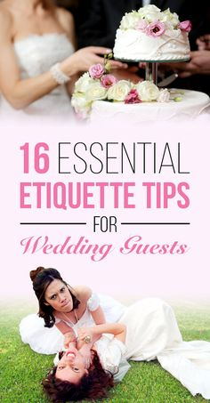 16 Essential Etiquette Tips For Wedding Guests