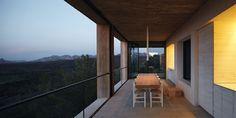 Casa Pezo in Matarraña (Spain). Designed by Pezo Von Ellrichshausen for Solo Houses Collection