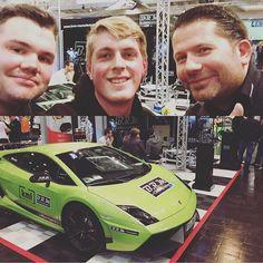 Cool Lamborghini: addicted to motorsport zu Besuch bei unserem Freund @veezed76 am Stand von BRM C...  addicted to motorsport
