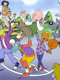 This is one of the good cartoons. Doug, Skeeter, and Patty Mayonaise wish it were still on