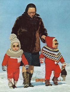 Hilarious and cute. Greenland tots National Geographic | December 1973