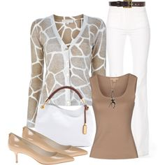 Giraffe Inspired, created by kristikay50 on Polyvore