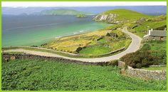 """Couminole, Dingle Peninsula, County Kerry, Ireland has been called """"the most beautiful spot in the world"""" by National Geographic Explorer."""