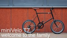 VELI MINIVELO T7 Mini, Welcome To The Family, Brompton, Bmx, Bicycle, Handmade, Candle, Made By Hands, Bicycles