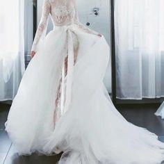 Bridal Detachable Train Diy Wedding Dress, Diy Dress, Bridal Dresses, Wedding Accessories, Wedding Events, Tulle, Elegant, 7 Layers, Bow