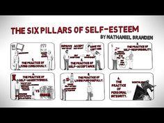 How to Build Self-Esteem - The Six Pillars of Self-Esteem by Nathaniel Branden - YouTube