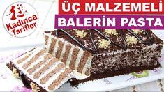 Üç Malzemeli Balerin Pasta Tarifi | Kolay Bisküvili Pasta Nasıl Yapılır ...