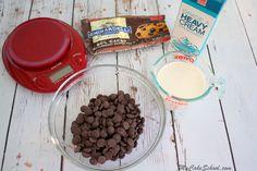 The perfect two-ingredient Ganache Drip Recipe by MyCakeSchool.com!