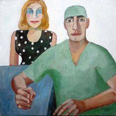 ЛАРИСА КОСЯКОВА Хирург и женщина, которую он спас. 2011