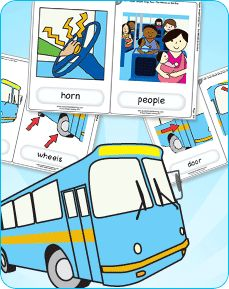 Learn to sing The Wheels on the Bus with our super simple version. Download free vocabulary cards to help teach the vocabulary in ESL/EFL classes.
